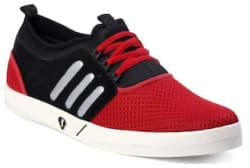 Jokatoo Stylish Men s Red Sports Shoes