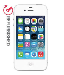 OPEN BOX Apple iPhone 4s 16GB 16GB White RAM- 512 MB 3 Month Seller Warranty