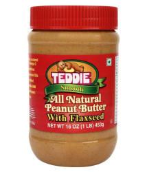 Teddie Flaxseed Peanut Butter Creamy 450 gm