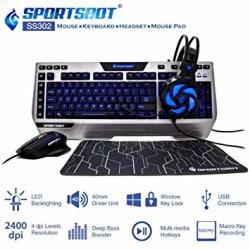 SportsBot SS302 4-in-1 LED Gaming Kit