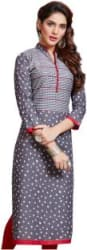 FabTag - Giftsnfriends Cotton Blend Printed Kurti Fabric Unstitched