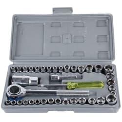 Aiwa 40pc Multi Purpose Combination Socket Wrench Set