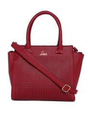 Lavie Red Solid Handheld Bag