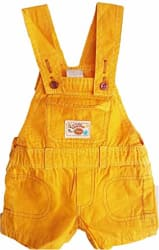 Unique Baby Boys Regular Fit Pure Cotton Dungaree(yellowJUMPSUIT266668)