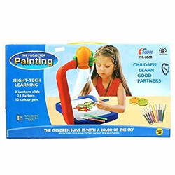 Webby Children Kids Projector Painting Drawing Activity Kit
