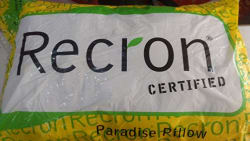 Recron Pack of 2 Paradise White Cotton Pillows(17x27inch)