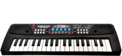Shrih 37 Keys Melody Piano With Dual Speakers Keyboard With Microphone Multicolor