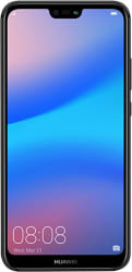 Huawei P20 Lite Midnight Black (19:9 Full View Display, 24MP Front Camera, 64GB)