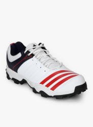 22 Yards Trainer 16 White Cricket Shoes