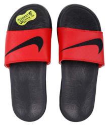 Nike solarsoft Red Slide Flip flop