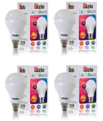 Vizio 9W LED Bulbs Natural White - Pack of 4