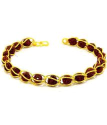 Loard Shiva Pooja Rudraksha Bracelet