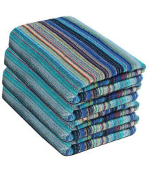 Fresh From Loom Set of 4 Terry Bath Towel Multi