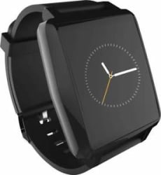 Intex IRIST PRO Black Smartwatch Black Strap Open Box MRP 5499/- Best Deal 50%OF