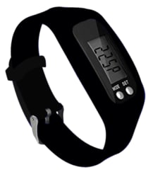 Digital Watch Fitness & Activity Tracker, Time, Step Counter, Calories, Distance