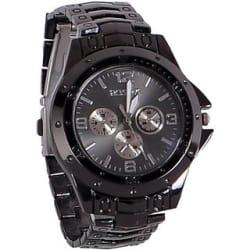 New rosra black man analog watch