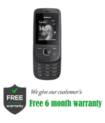 CERTIFIED USED Nokia 2220 ( 64 MB , Black , , 6 Month Seller Warranty )