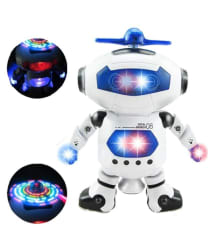 Webby Robot With Led Flash Lights