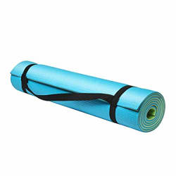 Fitkit FKYM02 Dual Layer Yoga Mat, 6mm