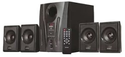 Intex IT-2655 DigiPlus 4.1 Channel Multimedia Speakers Black *ONLY BOX OPEN*
