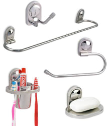 Doyours Stainless Steel 5 Pieces Bathroom Accessory Set