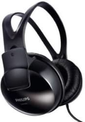 Philips SHP1900/97 Wired Headphone(Black)+3 Months Seller Warranty(Refurbished)