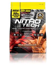 Muscletech Nitrotech 10Lbs ( 4.5KG) Milk Chocolate