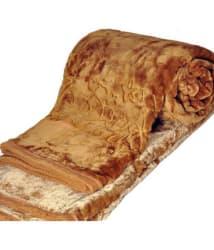 Z Decor Double Poly Mink Floral Blanket