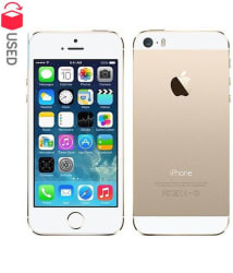 CERTIFIED USED Apple Apple iPhone 5S 16GB Gold RAM- 1 GB ( 6 Month Seller Warranty )
