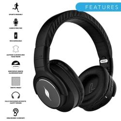 Leaf Beast Over-Ear Headphones with 30 Hour Battery
