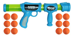 Blastoi - Super-Fun Exciting Air Popper Toy Gun with 12 Soft Foam Bullets; Perfectly Safe for Children