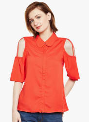 Red Solid Shirt