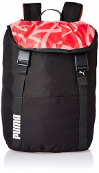 Puma Phantom Black-Paradise Pink-AOP Laptop Backpack (7513902)