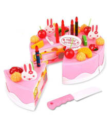 Webby Musical DIY Birthday Cake Toy (37 Pieces)