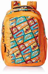 Skybags Polyester 30 Ltrs Orange Casual Backpack (BPHELPF1ONG)