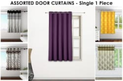 Story@Home Window Curtain Assorted Color And Design