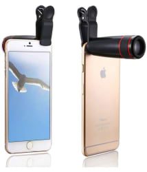 ShutterBugs 12x Zoom Lens Telescope & Monocular for Mobile