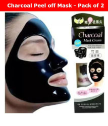 Charcoal Face Mask Anti Blackhead 260g- Pack of 2 (130g Each)