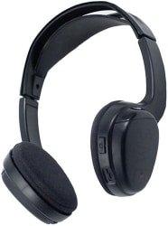 Power Acoustik WLHP100 Wireless Headphones (Black)