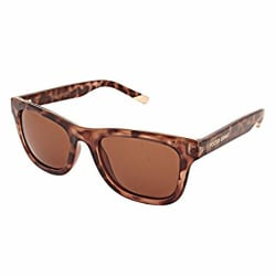 Foster Grant UV protected Rectangular Women Sunglasses (FOSTER GRANT 18961FGX201 IND|49 millimeters|Brown)