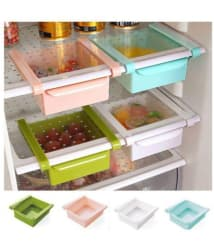 Vittamix 3 Pcs Multipurpose / Fridge Storage Unbreakable Rack / Drawer, Assorted
