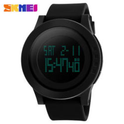 Skmei- Digital Sport Black Wrist Watch for Men & Boys