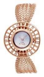 Titan Raga Analog White Dial Women s Watch -NK9931WM01