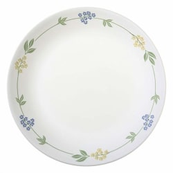 Corelle Livingware Secret Garden Dinner Plate, 26.2cm, 6 Pieces, White