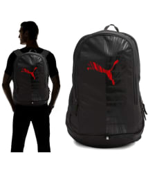 Puma Bag Puma Backpack College Bag College Backpack School Backpack School Bag- Red Graphic 25 Ltrs