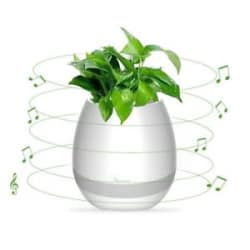 K3 FlowerPot Bluetooth Speakers with Touch Sensor~LED & Night Light