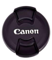 Canon Cap 58 mm Black Lens Cap for EF-S 18-55 IS II LENS
