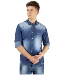 Pepe Jeans Blue Skinny Fit Shirt