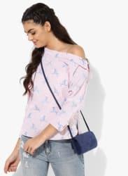 Pink Printed Shirt