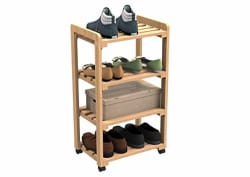 Forzza FO-SM0024 Casper Movable Rack,Oak